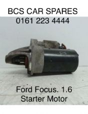 FORD FOCUS   STARTER MOTOR   1.6  PETROL   2004   PRE OWNED
